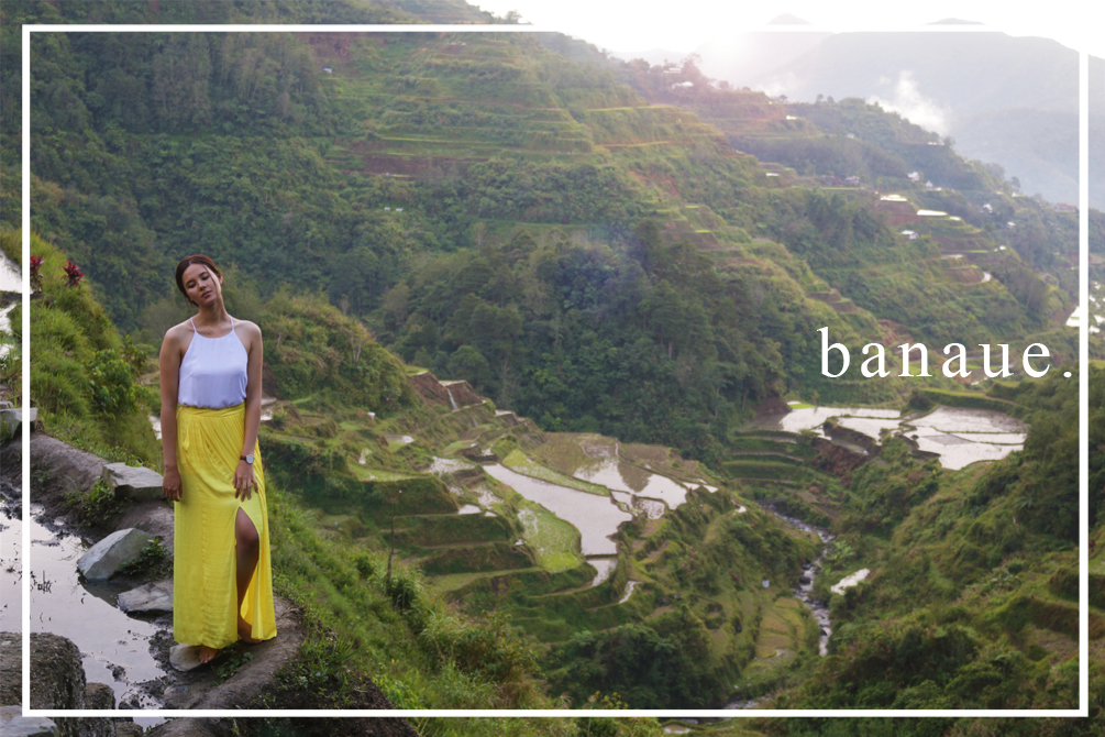 cat-elle.com | Catriona Gray at the Rice Terraces, Ifugao, Banaue, Philippines