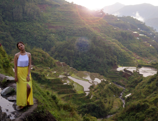 Rice Terraces Banaue, Philippines Catriona Gray