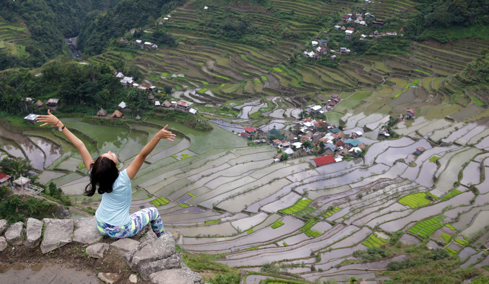 Batad Rice Terraces View Deck Philippines View Deck by Catriona Gray |cat-elle.com